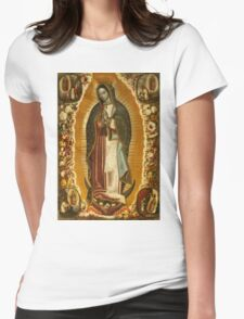Virgin Mary of Guadelupe, patroness of the Americas T-Shirt