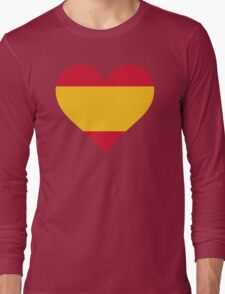 A heart for Spain Long Sleeve T-Shirt