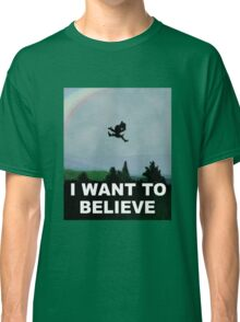 I Want To Belive (Leprechaun) Classic T-Shirt