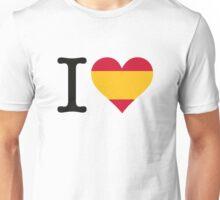 I love Spain Unisex T-Shirt