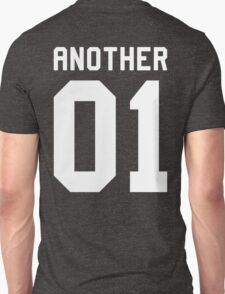 Another 01 (white font) Unisex T-Shirt