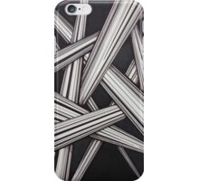 Abstract line design iPhone Case/Skin