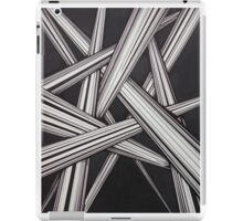 Abstract line design iPad Case/Skin
