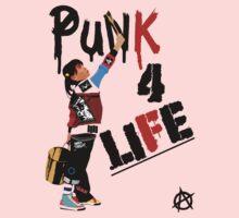 "Punky ""Punk 4 Life"" Brewster Kids Tee"