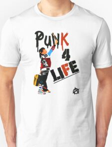 "Punky ""Punk 4 Life"" Brewster T-Shirt"