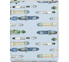 Doctor Who watercolor Sonic Screwdrivers iPad Case/Skin