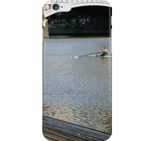 Sunday Morning on the Yarra River iPhone Case/Skin