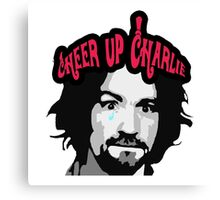Cheer Up, Charlie!   Canvas Print