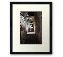 Abandoned R.A.F WW2 Base Framed Print