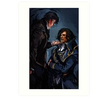 Dishonored - What will history tell us? Art Print