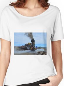 Steam Engine Train Women's Relaxed Fit T-Shirt