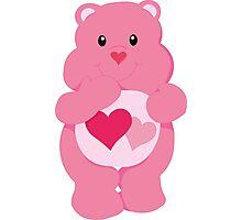 Care Bear Love Photographic Print