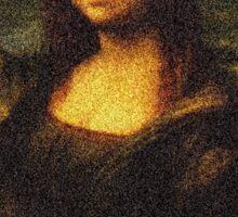 Supreme Mona Lisa Sticker