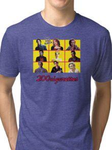 200 Cigarettes (The 80's Bunch) Tri-blend T-Shirt