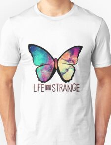 Life is Strange Rainbow Galaxy Butterfly T-Shirt
