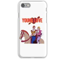 Young Love (He-Man and Bow) iPhone Case/Skin