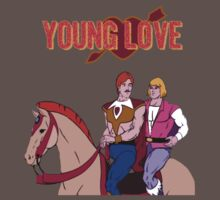 Young Love (He-Man and Bow) One Piece - Short Sleeve