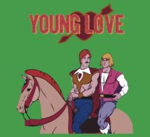 Young Love (He-Man and Bow) Kids Tee