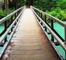 A Bridge to Peace Sticker