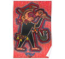 Aztec Guard Poster