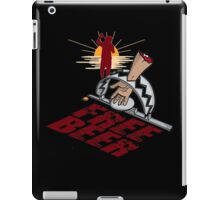 man trap free beer iPad Case/Skin