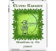 Elven Ranger iPad Case/Skin