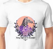 Being Different Is Beautiful Unisex T-Shirt