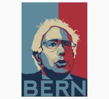 Bernie Sanders - Bern (Off White Hair) Kids Tee
