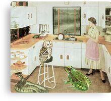 Animal lover  Canvas Print