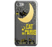 A Cat in Paris iPhone Case/Skin