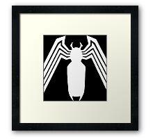 Venom Spider Framed Print
