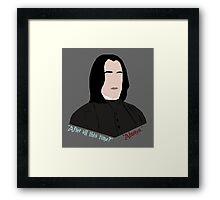 """Always."" Framed Print"