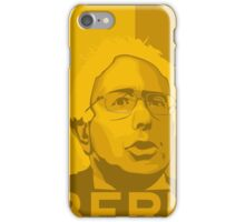 Bernie Sanders - Bern (GOLD) iPhone Case/Skin