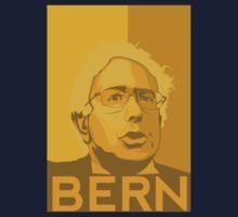 Bernie Sanders - Bern (GOLD) Kids Tee