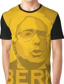 Bernie Sanders - Bern (GOLD) Graphic T-Shirt