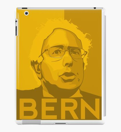 Bernie Sanders - Bern (GOLD) iPad Case/Skin