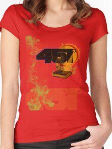 farenheit 451 Women's Fitted Scoop T-Shirt