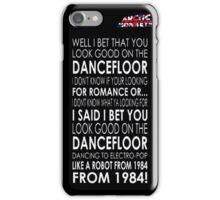 Good On The Dancefloor iPhone Case/Skin
