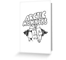 Arctic Monkeys (AM) | Solo Greeting Card