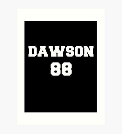 dawson 88 Art Print