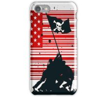 Barcode Flags Piracy  iPhone Case/Skin