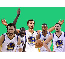 Golden State Warriors Starters Photographic Print