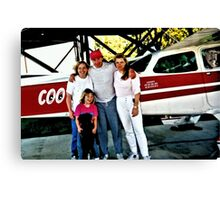 """""""Flyin' the Country Skys of Cousin Cooter""""... prints and products Canvas Print"""