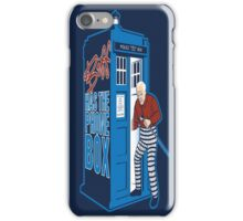 Biff Has The Phone Box iPhone Case/Skin