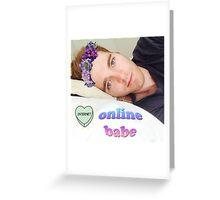 shane dawson online babe Greeting Card
