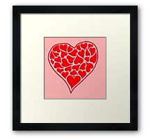 Heartest of hearts Framed Print