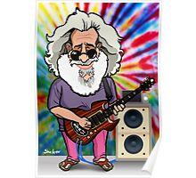 Jerry Garcia (The Grateful Dead) Poster