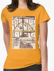 House of Trembling Madness Womens Fitted T-Shirt