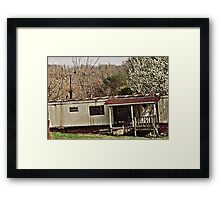 """Bubba's Summer Cottage ""... prints and products Framed Print"