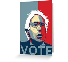 Bernie Sanders - Vote (Original) Greeting Card